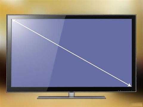 Cách đo kích thước màn hình tivi