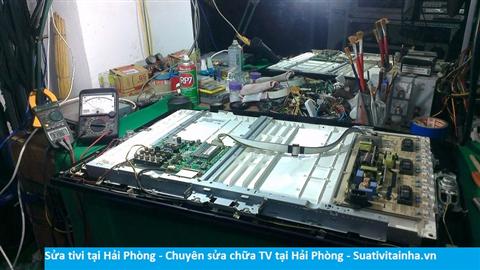 Dịch vụ sửa chữa tivi tại Hải Phòng - Sửa tivi LCD - LED tại Hải Phòng giá rẻ