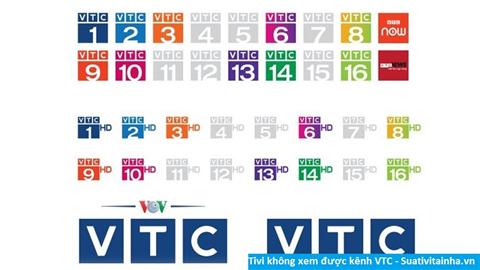 Cách sửa Tivi không xem được kênh VTC