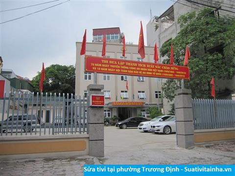 Sửa tivi tại Trương Định