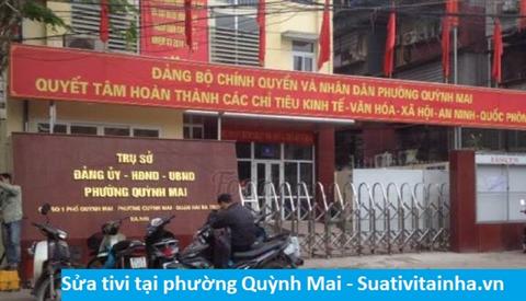 Sửa tivi tại Quỳnh Mai