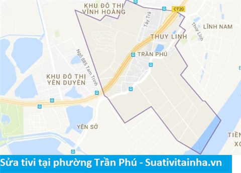 Sửa tivi tại Trần Phú