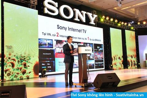 Tivi Sony không lên hình