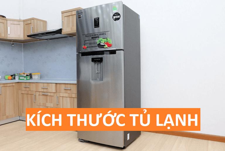 Kích thước tủ lạnh Side By Side 1 cánh, 2 cánh, 4 cánh Mini Hitachi là bao nhiêu?
