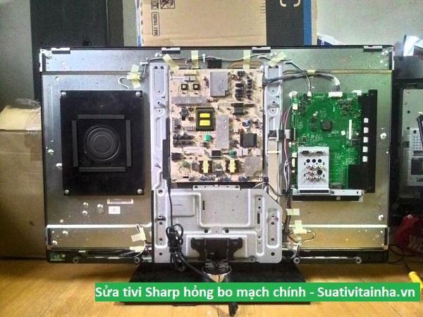Sửa tivi Sharp hỏng bo mạch chính
